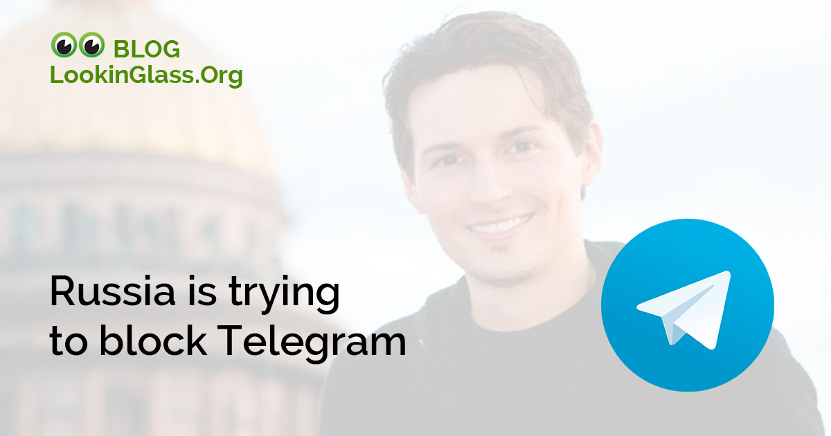 Russia is trying to block Telegram